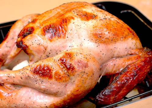 Apple Cider-Brined Turkey with Savory Herb Gravy |