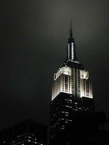Empire State Building in the cloud