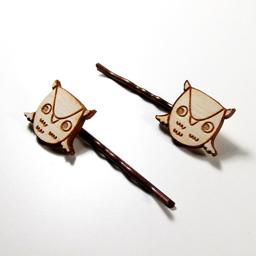 Owl Hairpins 3