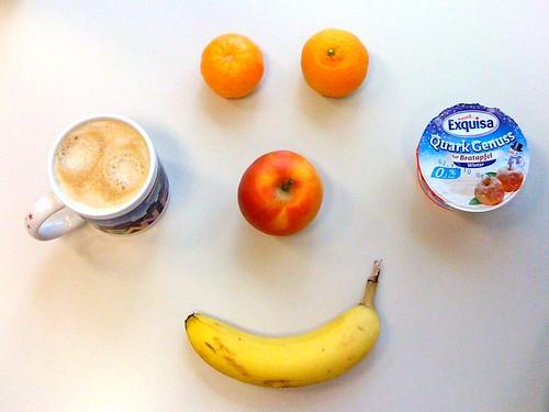 Quark Genuss, Apfel, Banane & Clementinen