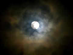 Hide-n-Seek 1 (sougata m) Tags: blue light sky cloud moon nature up closeup night nikon close l100