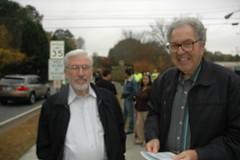 Sheldon Simms and Jim Callaham, residents of Vinings