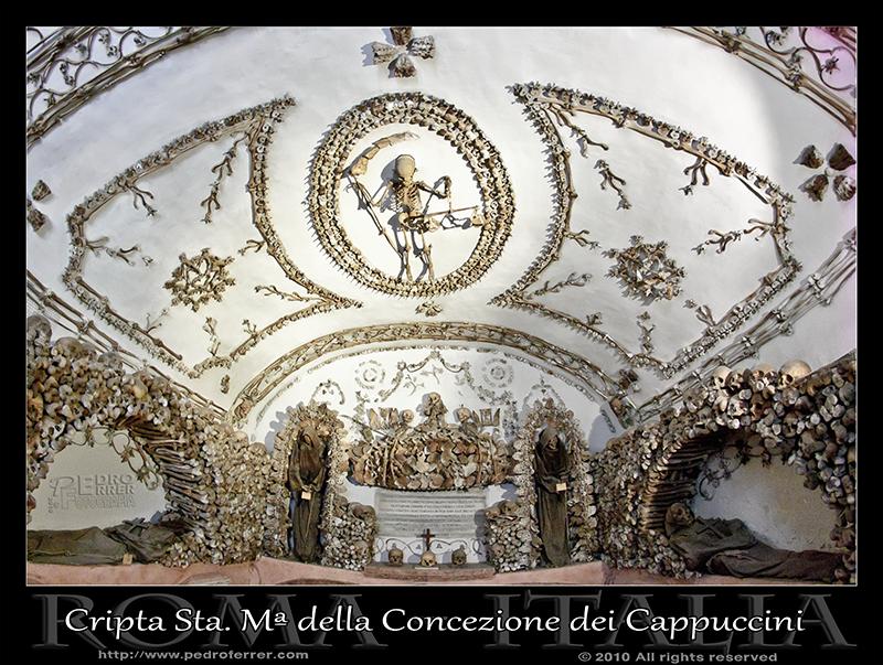 Roma - Santa María della Concezione dei Cappuccini - Cripta - Capilla 4