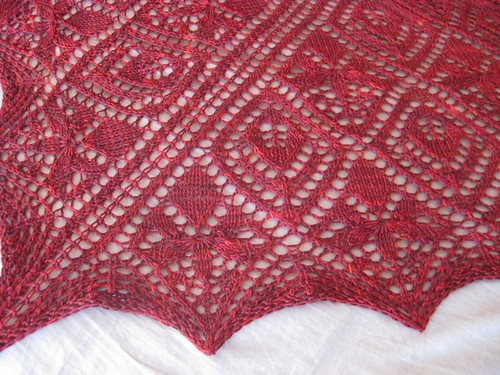 Orchid View Shawl