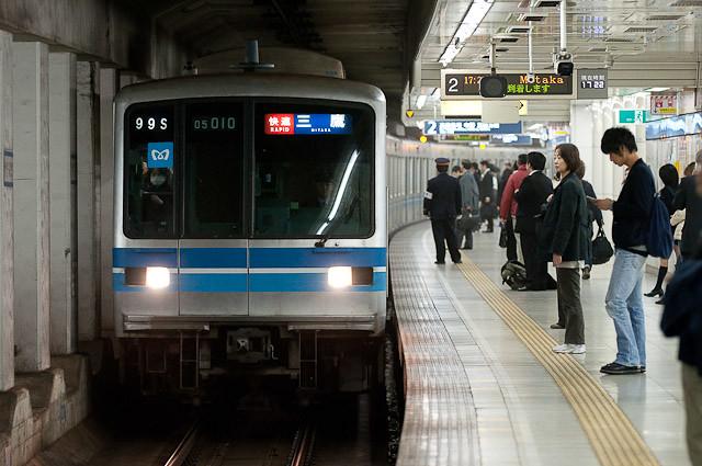 東京メトロ東西線05系 05-110F