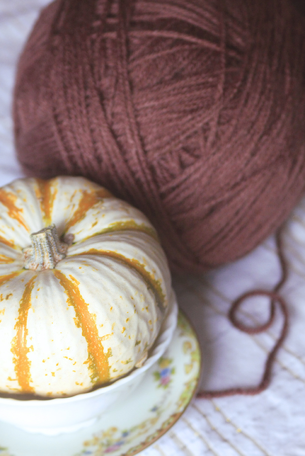 brown yarn love