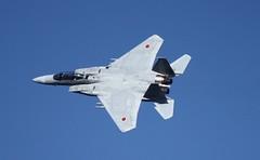 [フリー画像] 乗り物, 航空機, 戦闘機, F-15 イーグル, 航空自衛隊, 201102022300