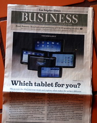 Los Angeles Times Review of Tablet Computers & the iPad - Page 1