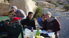 breakfast (Venchappa) Tags: family friends tree rock joshua courtney helmet joshuatree rope climbing intersection kelsey jt lycra caileen
