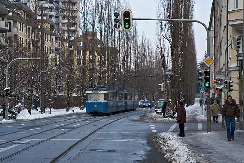 Der Schnee ist schon fast wieder geschmolzen, als 2028 den Regerplatz erreicht