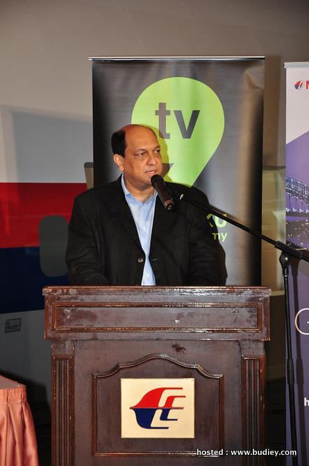 Dr Amin Khan, Naib Presiden Eksekutif, Strategi Komersial Penerbangan Malaysia