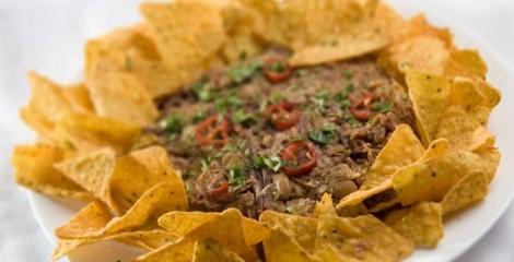 receita nachos