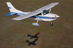 Breaking the Fourth Wall (Champion Air Photos) Tags: cessna champ aeronca airtoair 182 skylane