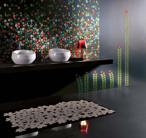 Design Inspiration: Stylish Mosaic Tiles Design from Vetrovivo by Design Inspiration Gallery