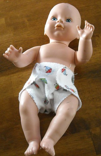 doll with diaper