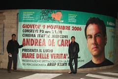 Andrea De Carlo e Arup Kanti Das a Conselve