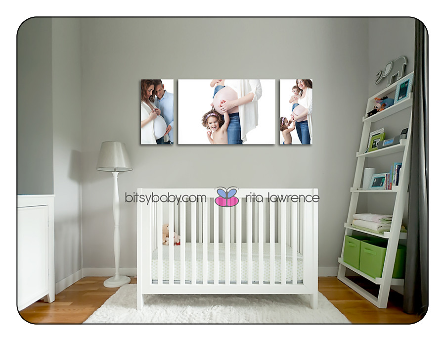 canvas display maternity photography 1 copy