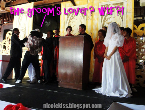 groom's drunken lover