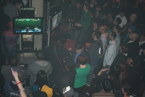 Marvel vs Capcom 3 launch party