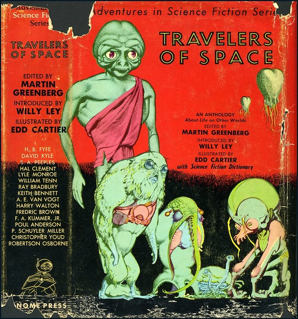 Edd Cartier - Travelers of Space (Gnome Press 1951)