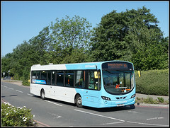 NXC 2153 Walsgrave (Jason 87030) Tags: 9a 2017 volvo wright eclipse urban bus vehicle cov midlands coventry walsgrave june weekend sony sunny skyblue nxc nationalexpress bd12tfz2153
