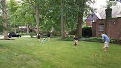 Fourth of July croquet (Tim Evanson) Tags: clevelandheightsohio croquet independenceday