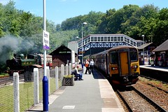 GWR at Bodmin Parkway (57604 Pendennis Castle) Tags: 57xx 4612 bodminparkway 153