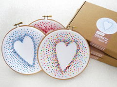 Heart Embroidery Kits, Special Offer, Needlework Kit, Christmas Present For Crafter, Xmas Gifts for Her, Hoop Art Set, Stocking Filler by OhSewBootiful (ohsewbootiful) Tags: embroidery etsy etsyuk gifts giftsforher homedecor hoopart fiberart handembroidery handmade etsyseller embroideryhoop shophandmade handmadegifts decor wallhanging bestofetsy