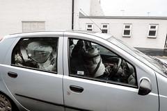 Belt Up (Number Johnny 5) Tags: decay tamron d750 2470mm rubbish vaccuum cleaner car nikon junk gorleston grim urban norfolk grot