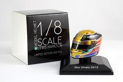 Spark 1:8 Arai Helmet - Lewis Hamilton - Abu Dhabi Grand Prix 2013 (DanGB) Tags: spark sparkmodel 18th helmet arai lewishamilton lh44 mercedesamg petronas f1 formula1 scalemodelmcollectible monsterenergy mercedesbenz limitededition abudhabigrandprix 2013