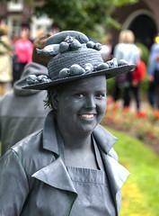 Living statues in Westerbork  (5) (John de Grooth) Tags: westerbork livingstatue livingstatues drenthe 2017 02062017