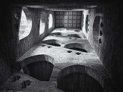 Trappenhuis (Paul Beentjes) Tags: nederland netherlands egmond abdij abbey trappenhuis staircase opstijgen ascend