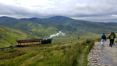 20170701_145809_HDR (Paul_sk) Tags: north wales snowdonia mount snowdon llanberis path mountain walkers train railway 1085 metres national park