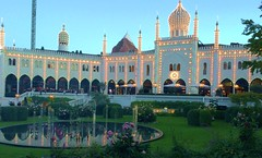 The Magical World of Tivoli Gardens (dodagp) Tags: denmark copenhagen tivoligardens themeparks amusementparks pleasuregardens thenimbattwilight moorishstyle