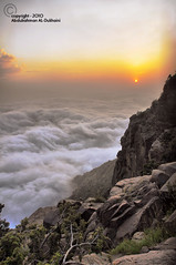 Saudi Arabia - Abha  | Explore | (Abdulrahman AL-Dukhaini || ) Tags: sunset sun clouds nikon fantasy saudi arabia difficult  abha withdrawal 2010 scattered   d90         abdulrahman   lens18200mm   aldukhaini