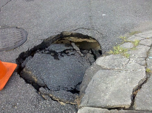 Hole in the road take 2