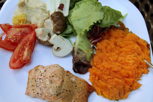 Dinner in Gasquet, CA