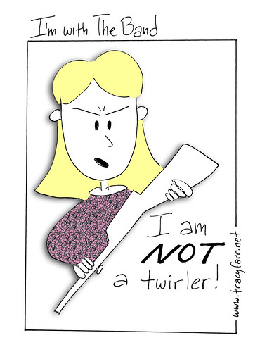 I am NOT a twirler!