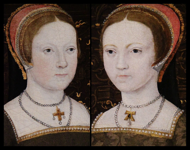 Tudor ladies-in -waiting