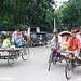 Bangladesh, street in Dhaka バングラデシュ