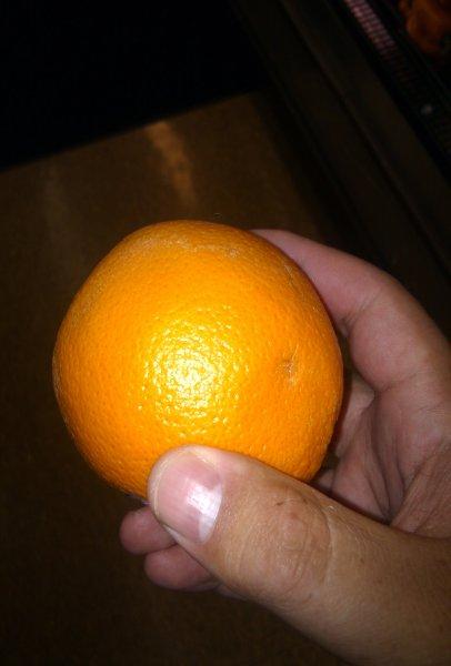 orange orange peel