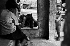 The rural Phnom Penh - Andong Village #1 (Mio Cade) Tags: travel boy baby white black girl rural kid toddler cambodia village documentary phnom reportage penh andong