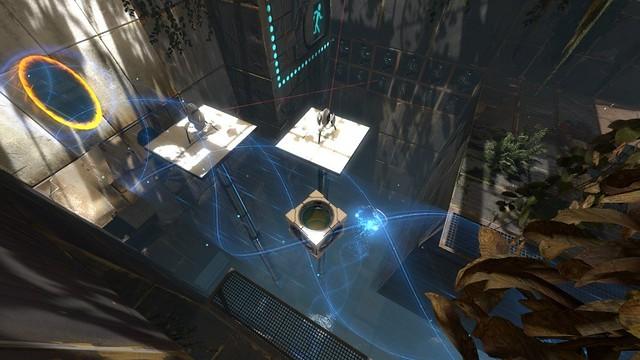 Screenshots Portal 2 cubo