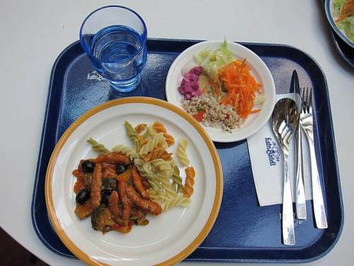 lunch in arabia factory