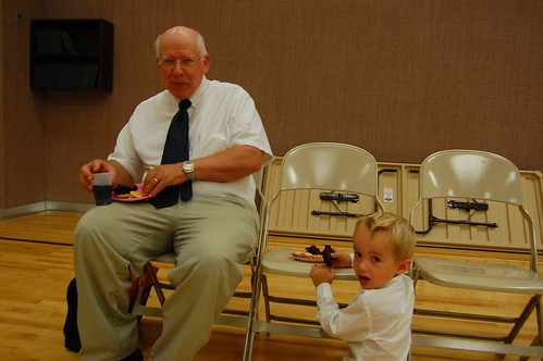 July 24 2010 Baptism Grandpa B and Eric