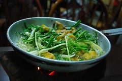 Fish and dill for 2 - Cha Ca La Vong VND120000 each