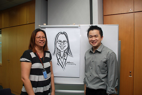 Caricature Workshop for AIA Tampines - Day 3 - 16