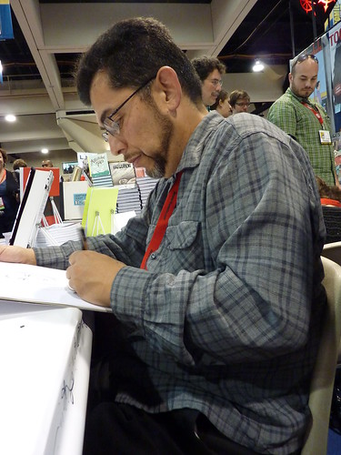Jaime Hernandez - Fantagraphics at Comic-Con 2010