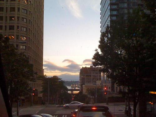 seattle before sunset 9pm