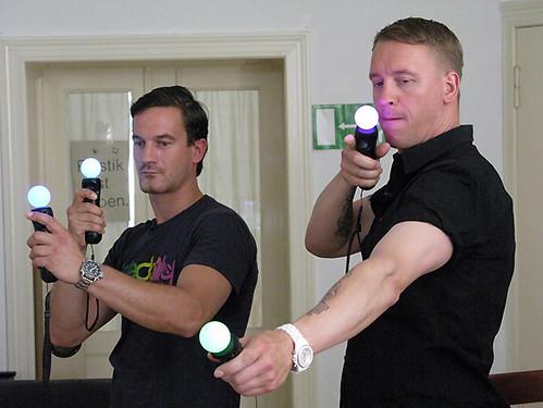PlayStation Move Session: Sönke und Jens